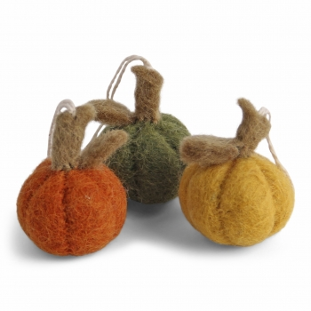 Pumpkins Mini - Mix - Set of 3