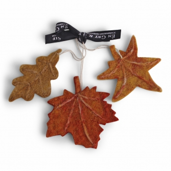 Autumn Leaves - Set of 3