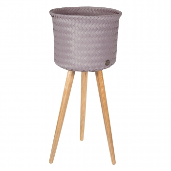 Handed By - Up High Basket mauve